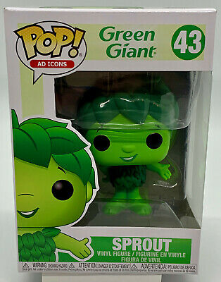 Jolly Green Giant Sprout Pop #43 Funko Ad Icons