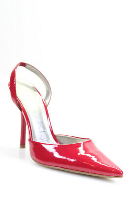 53c8a2c1af9 STUART WEITZMAN PATENT leather Candy Apple Red Pointed Toe pumps US ...