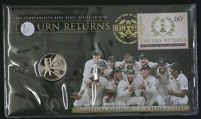 2013/14 PNC Ashes Series Coin: The Urn Returns