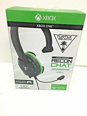 ✔ SEALED Turtle Beach Ear Force Recon Chat Gaming Headset Communicator, XBox One