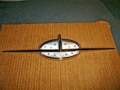 1957 Oldsmobile 88 Super 88 98 Hood Ornament Used Nice Driver Condition