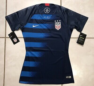 finest selection b8fbf f2e45 NIKE USA USWNT Women's Carli Lloyd #10 Black Soccer Jersey ...