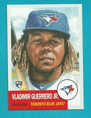 2019 Topps Living Set VLADIMIR GUERRERO JR. ROOKIE RC TORONTO BLUE JAYS #179