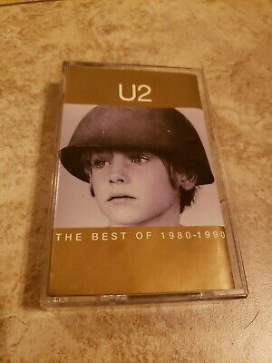 Cassette Tape U2 The Best of 1980-1990 Tested. 80's 90's