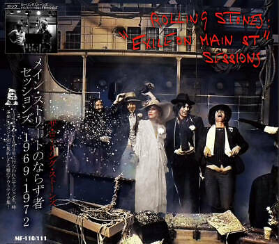 THE ROLLING STONES EXILE ON MAIN ST SESSIONS 1969-1972 2CD F/S Japan