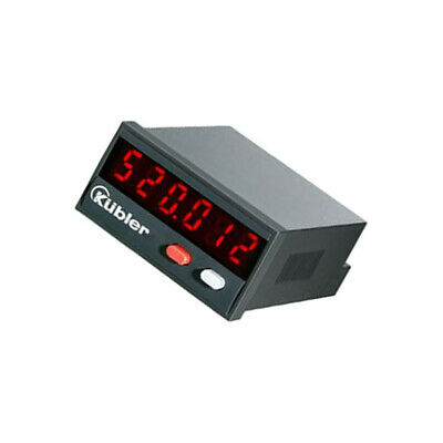 6.520.012.300 Counter electronical Type of count.signal pulses KUBLER