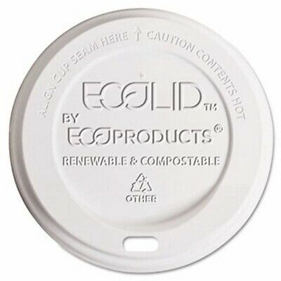 World Art Compostable Hot Cup Lid, 800 Lids (ECP EP-ECOLID-8)
