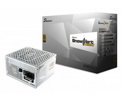Seasonic Prime  Ssr-550Gd2-Snowsilent 550W 80 Plus Gold Full Modular Psu