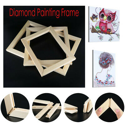 5D Diamond Painting Frame Picture Wooden Frame DIY Cross Stitch Embroidery
