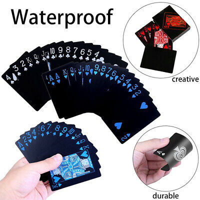 2Pack Waterproof Poker Plastic PVC Playing Cards Perfect for Party and Game Gift