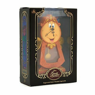 Disney BEAUTY AND THE BEAST - Herr von Unruh - Cogsworth Clock Big Ben Figur
