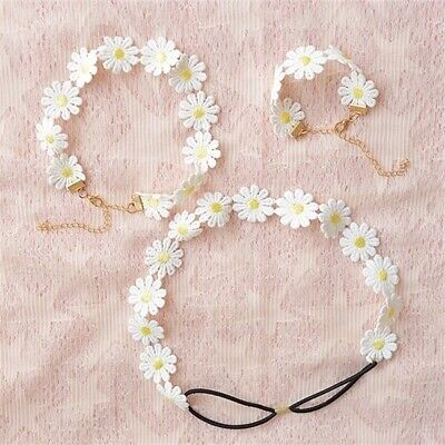15 Yards Daisy Flowers Trim Lace Ribbon Embroidery Craft Sewing Trims Cute Decor