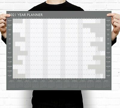2020 Year Wall Planner ~ Yearly Annual Calendar Chart A2 Size Large