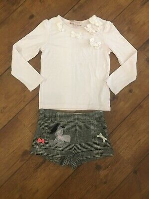 Lili Gaufrette Outfit 4 Years Top & Shorts