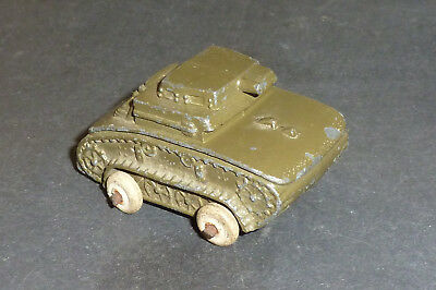 Alter Metall Barclay Manoil Panzer - Military Tank