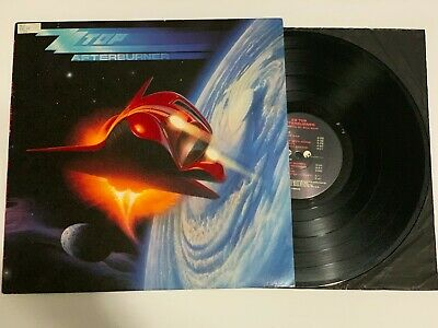 ZZ Top Afterburner 1985 Warner Bros Vinyl LP Record Album