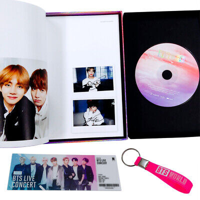 BTS WORLD OST CD + Photo Book+Lenticular+Pre-Order Gift+Store Photocard+Tracking