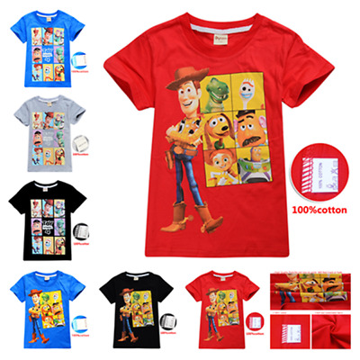 Toy Story Girls Kid Youth T-Shirt Tee Age 3-13 New