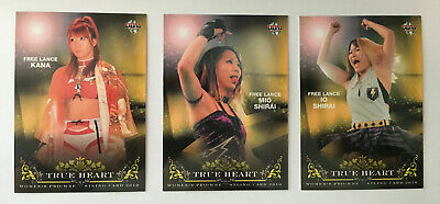 2010 BBM True Heart Wrestling Complete Set #1-96 Kana, Io Shirai WWE NXT
