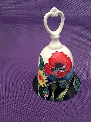 Bnib Old Tupton Ware TW7416 Floral Bell Jeanne McDougall Collection