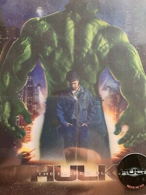 Blu Ray Steelbook Incredible Hulk Novamedia