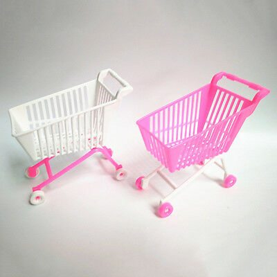 ITS- Shopping Cart Trolley for Barbie Doll Classic Kids Girls Toy Birthday Gift