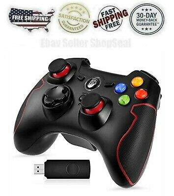 Control Mando Joystick Inalambrico Para PC Computadora Windows PS3 Con Vibracion