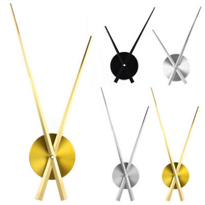 Wall Clock Movement with Hands Repair Parts Tool Large Room Decor Brand New Hot