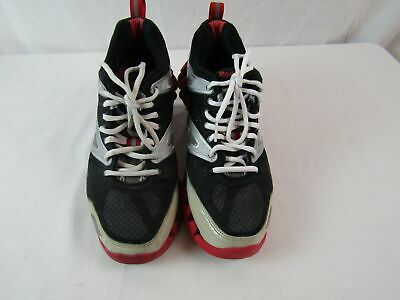 BOYS REEBOK BLACKRED High Top Indstructr Shoes Us Size 2