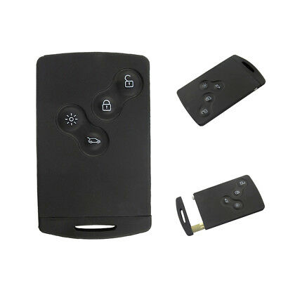 ITS- BL_ 433Mhz PCF7952 4 Button Smart Card Remote Car Key for Renault Koleos Cl