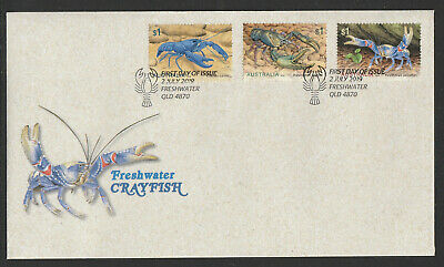 Australia 2019 : Freshwater Crayfish, First Day Cover. Mint Condition