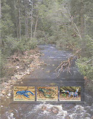 Australia 2019 : Freshwater Crayfish - Stamp pack. Mint Condition