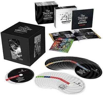 TWILIGHT ZONE The 5th Dimension DVD Complete Series Limited Edition Box Set New