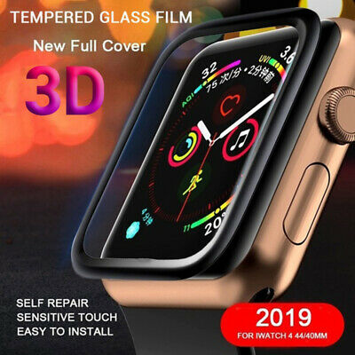 3D curved Tempered Glass Screen Protector For Apple Watch 4 3 2 1 40/42/44mm AU