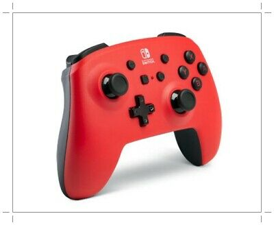 Nintendo Switch PowerA Enhanced Wireless Controller Red