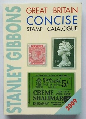 Stanley Gibbons 2009 Great Britain Concise Stamp Catalogue. Second hand.
