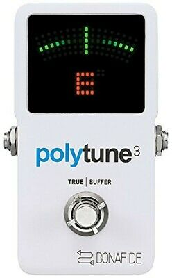 TC Electronic polyphonic tuner POLYTUNE 3 from japan