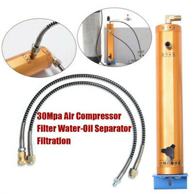PCP Compressor Oil-Water Separator Air Filter High Pressure 30Mpa 300bar 4500PSI