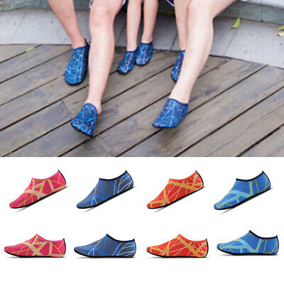 Unisex Men Women Kids Water Skin Shoes Socks Slip On Sea Wet Beach Swim Surf New