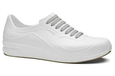Toffeln Aktiv Flex 220 - White - Washable Work Shoes