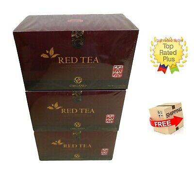3 Cajas Organo Gold Red Tea With Ganoderma Lucidum - Expiry 02/2021 Tax Free