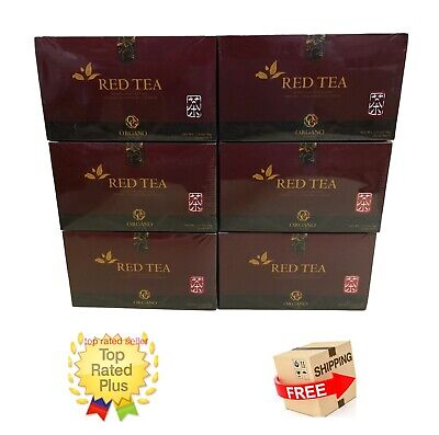 6 Cajas Organo Gold Red Tea With Ganoderma Lucidum - Expiry 02/2021 Tax Free