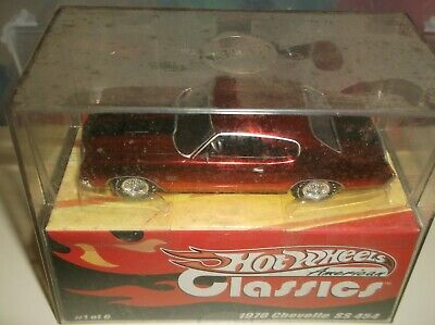 Hot Wheels 1/43 American Classics 1970 Chevelle Ss 454 Limited
