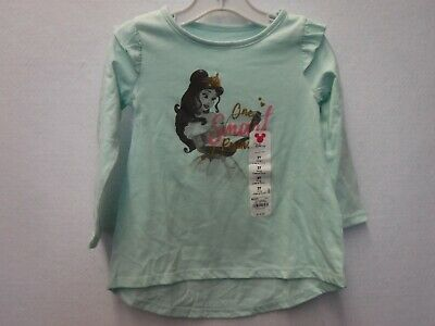 Girls Size 2T Jumping Beans Disney Belle One Smart Princess Tunic Top New #15947