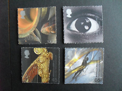 2000 Sound and Vision  Set of 4  SG2174 - 2177  MNH