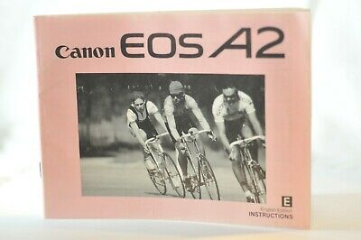 Canon EOS A2 instruction manual original vintage