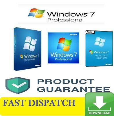 windows 7 pro  Professional 32/64-bit Product Key with download link