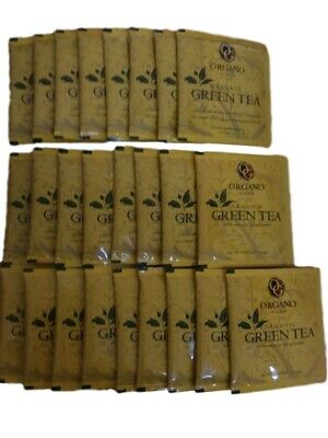 1 Caja Organo Gold Green Tea With Ganoderma Lucidum - Expiry 02/2021 Tax Free