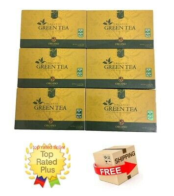 6 Cajas Organo Gold Green Tea With Ganoderma Lucidum - Expiry 02/2021 Tax Free