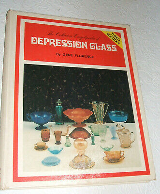 The Collectors Encyclopedia of Depression Glass by Gene Florence 3rd ed. 1977